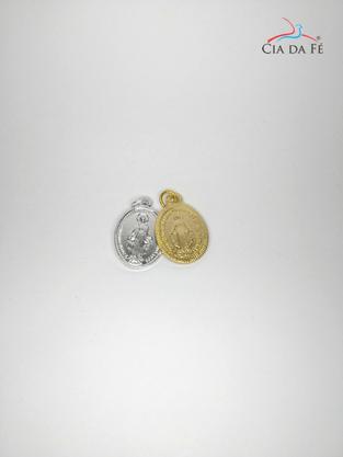 Medalha de Alumínio Graças Milagrosa