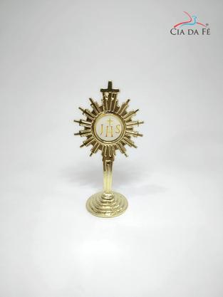 Ostensório Dourado Médio