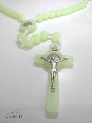 Terço Fluorescente Nossa Senhora Aparecida