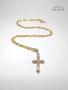 Colar Cruz dourado - pequeno