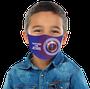 Máscara Infantil Protegido por Jesus